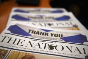 Readers have complained that copies of The National have been hidden at supermarkets and other distributors