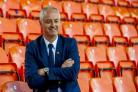 Dundee United manager Ray McKinnon will take his Championship side to Dens Park in the Betfred Cup