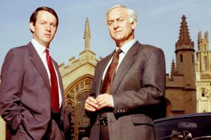 Kevin Whately and John Thaw, above, became two of the best-known faces on TV in Britain, thanks to the creation of the Inspector Morse series by Kenny McBain