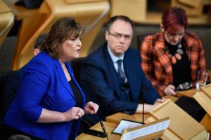 Fiona Hyslop opens the Holyrood debate that followed Theresa May's speech on Brexit