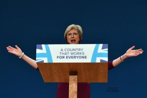 Theresa May set out her vision of the UK's post-EU future