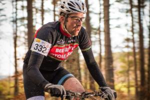 Entrepreneur Alex Matheson is relishing the physical challenge posed by this weekend's Strathpuffer mountain bike race