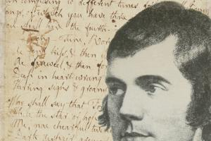 The original manuscript of Burns's Ae Fond Kiss is to go on public display
