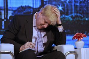 Boris Johnson came under fire for his comments about French president Francois Hollande