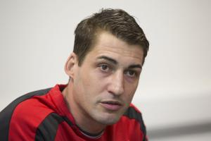 Tynecastle hero Rudi Skacel is expecting mixed emotions when Raith Rovers face Hearts on Saturday