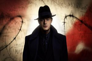 Sam Riley as police detective Douglas Archer in the alternative history series  SS-GB