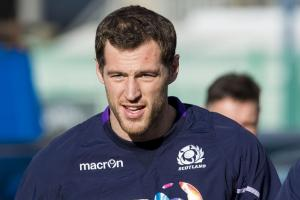 Tim Visser will have his work cut out against George North today