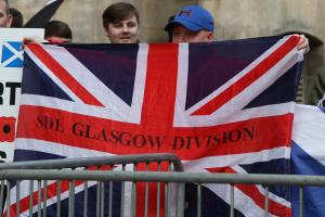 Scapegoating people fleeing terror - the Scottish Defence League