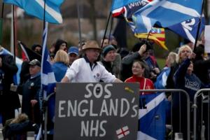 Quarter of a million people took to the streets of London at the weekend to protest about the state of the NHS in England with Westminster demanding another £20bn of cuts by 2020