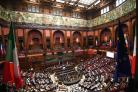 A concert celebrating 60 years of the EU takes place in the Italian Parliament