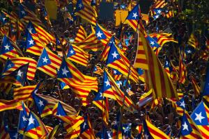 Catalalonia wants the Spanish government to talk about a referendum, as Scotland and the UK did for the 2014 poll