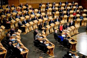 SNP MSPs were puzzlingly quiet at the debate on a second independence referendum at the Scottish Parliament on Tuesday. Some dynamism needs to be found again, and soon, as does the spark to rebut dodgy Tory lines on independence  Photograph: Jeff J Mitche