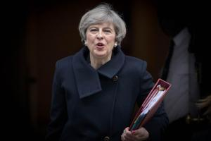 Confidence in the current UK Government, led by Theresa May, is low. Photograph: Stefan Rousseau/PA