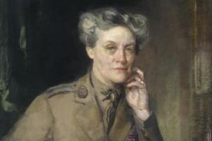 One of the most extraordinary women in Scottish history, Doctor Alexandra Mary Chalmers Watson, the first chief controller of the Women's Auxiliary Army Corps