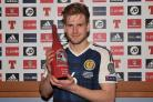Stuart Armstrong turned in a man-of-the-match performance