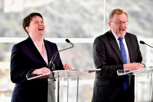 Theresa May's Scottish crew - Ruth Davidson and David Mundell