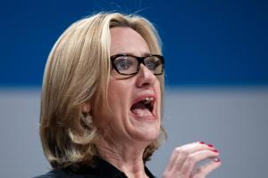 Home Secretary Amber Rudd denied any suggestion of 'a threat'