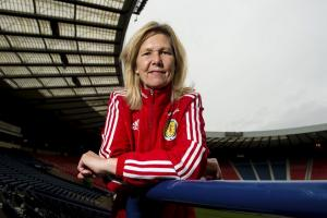 The Scotland manager has been forced to make changes but insists she is unperturbed