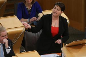 Meaningful policies? Ruth Davidson