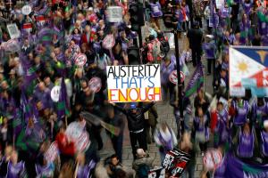 Neo-liberal economics tell us austerity is good for us