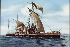 The Kon-Tiki expedition was led by explorer Thor Heyerdahl