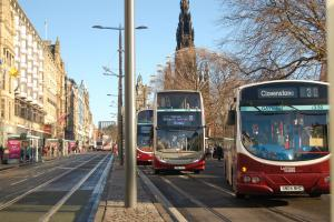 The Greens are determined to keep Lothian Buses in public hands