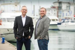 John Devlin, CEO, Ascensos, and Lyle McLean, Operations Director, Isle of Wight, pictured in Cowes, on the island