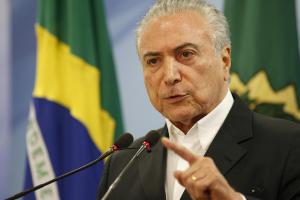 A tape allegedly demonstrates President Michel Temer condoning bribery payments