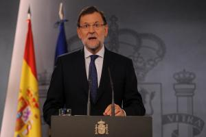 Mariano Rajoy was visibly irritated speaking about the alleged plan