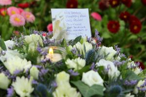 The response to the horrific attack has been one of solidarity. Photograph: Colin Mearns
