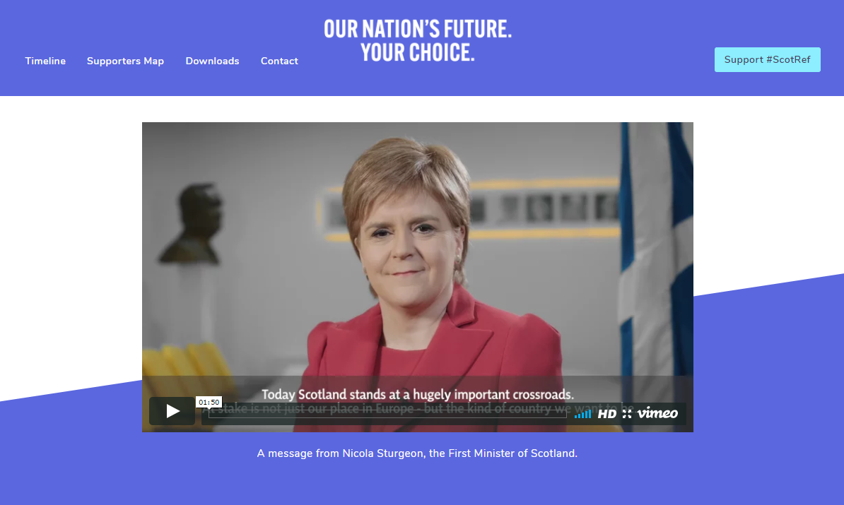Sturgeon: Media will not 'dictate' my indyref2 decision