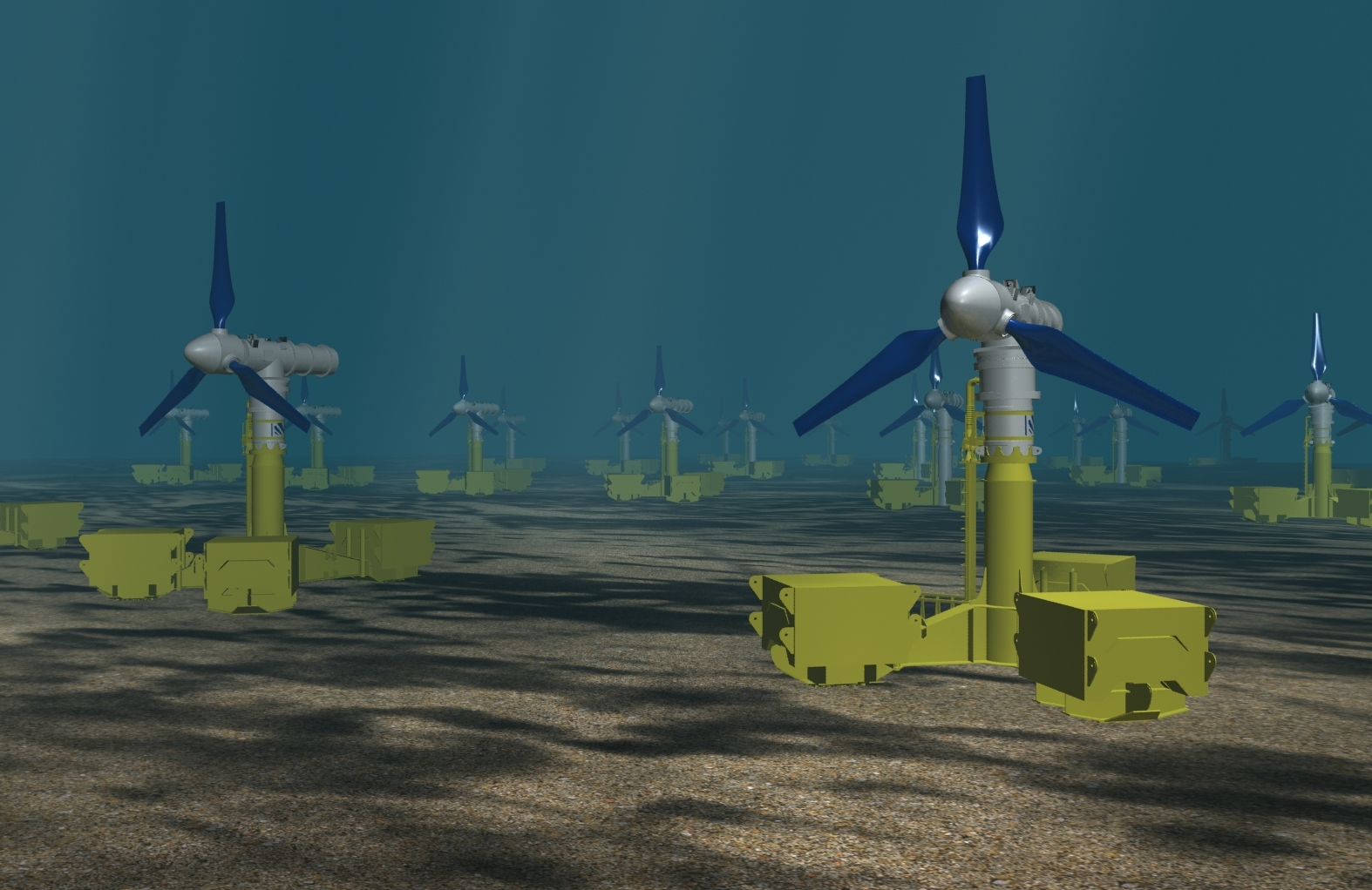 Tidal energy can be harnessed
