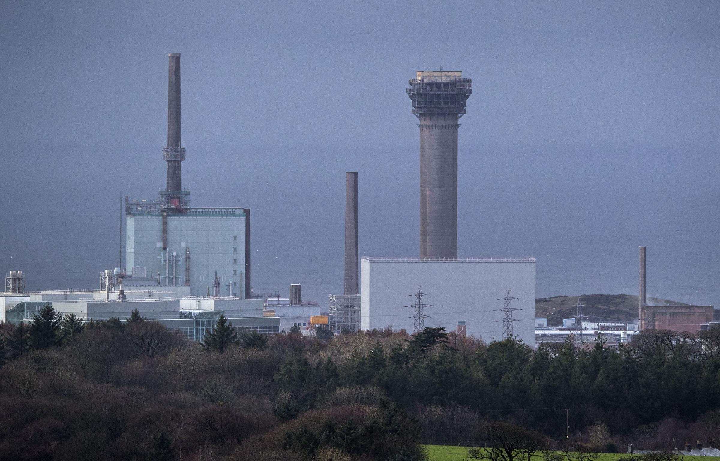 Sellafield Nuclear power plant in Cumbria. Photograph: PA