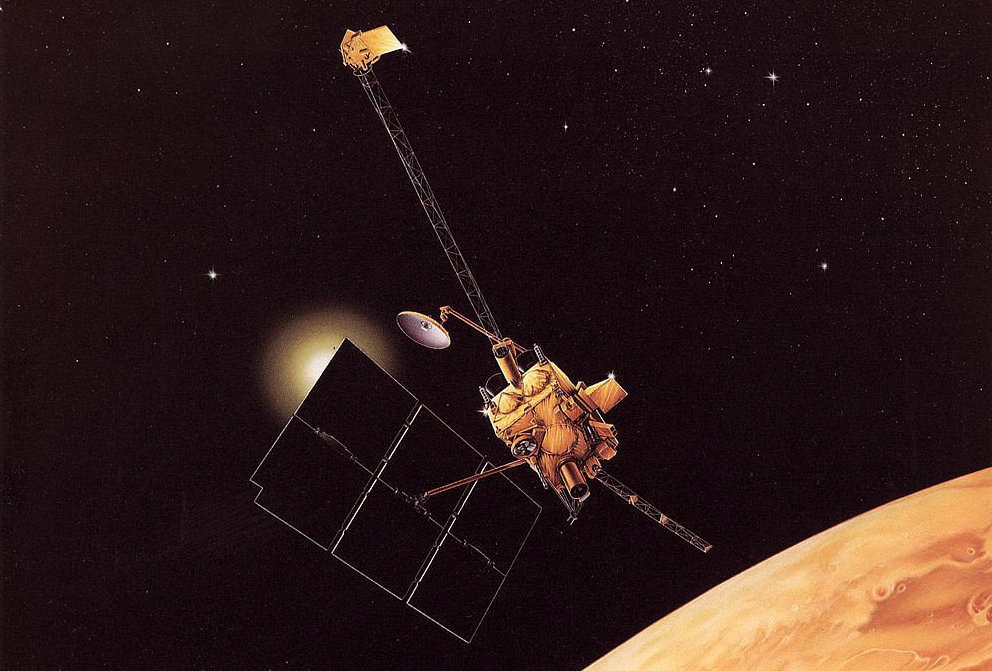 On August 21, 1993 all communications with the Mars Observer were lost