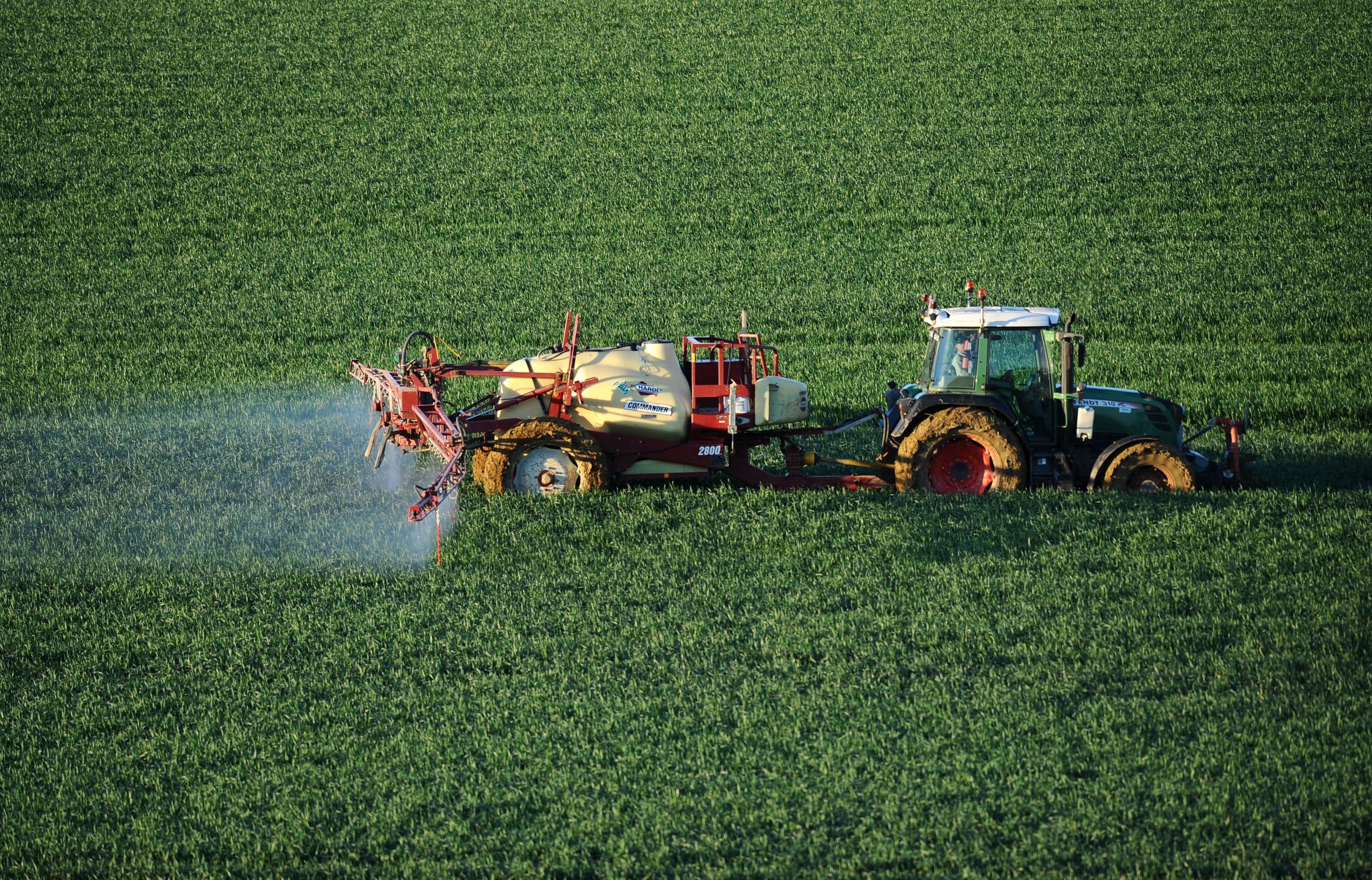 Currently, all the phosphorus used by Scotland's farmers is imported