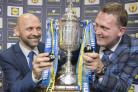 Colin Cameron and Doddie Weir conducted the draw