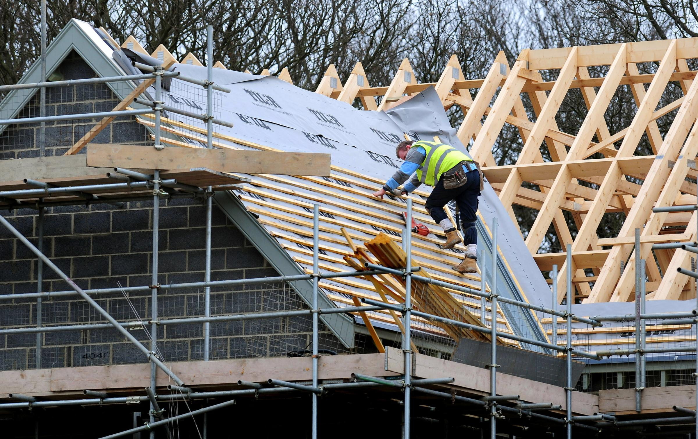 Almost 7000 private new build homes were built in the first half of 2017. Photograph: PA