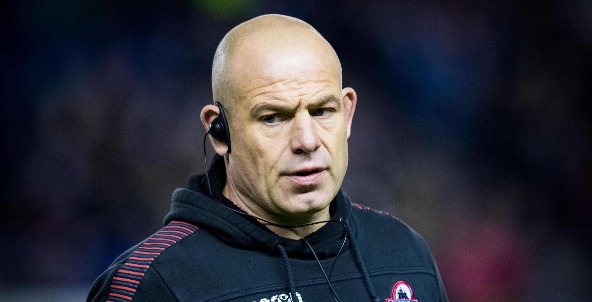 Edinburgh head coach Richard Cockerill is whipping up a siege mentality.