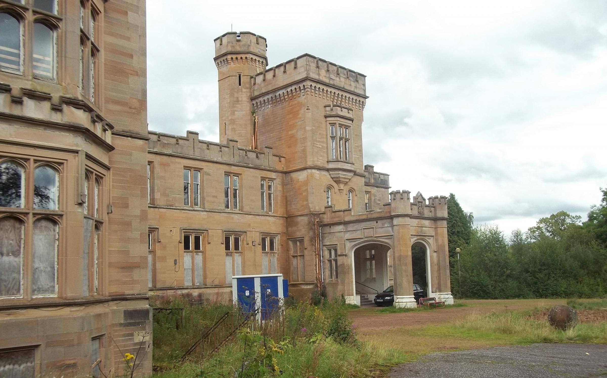 Birkwood Castle is a 17th-century Gothic mansion