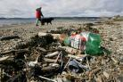 Single-use plastic items are causing significant pollution on Scottish beaches