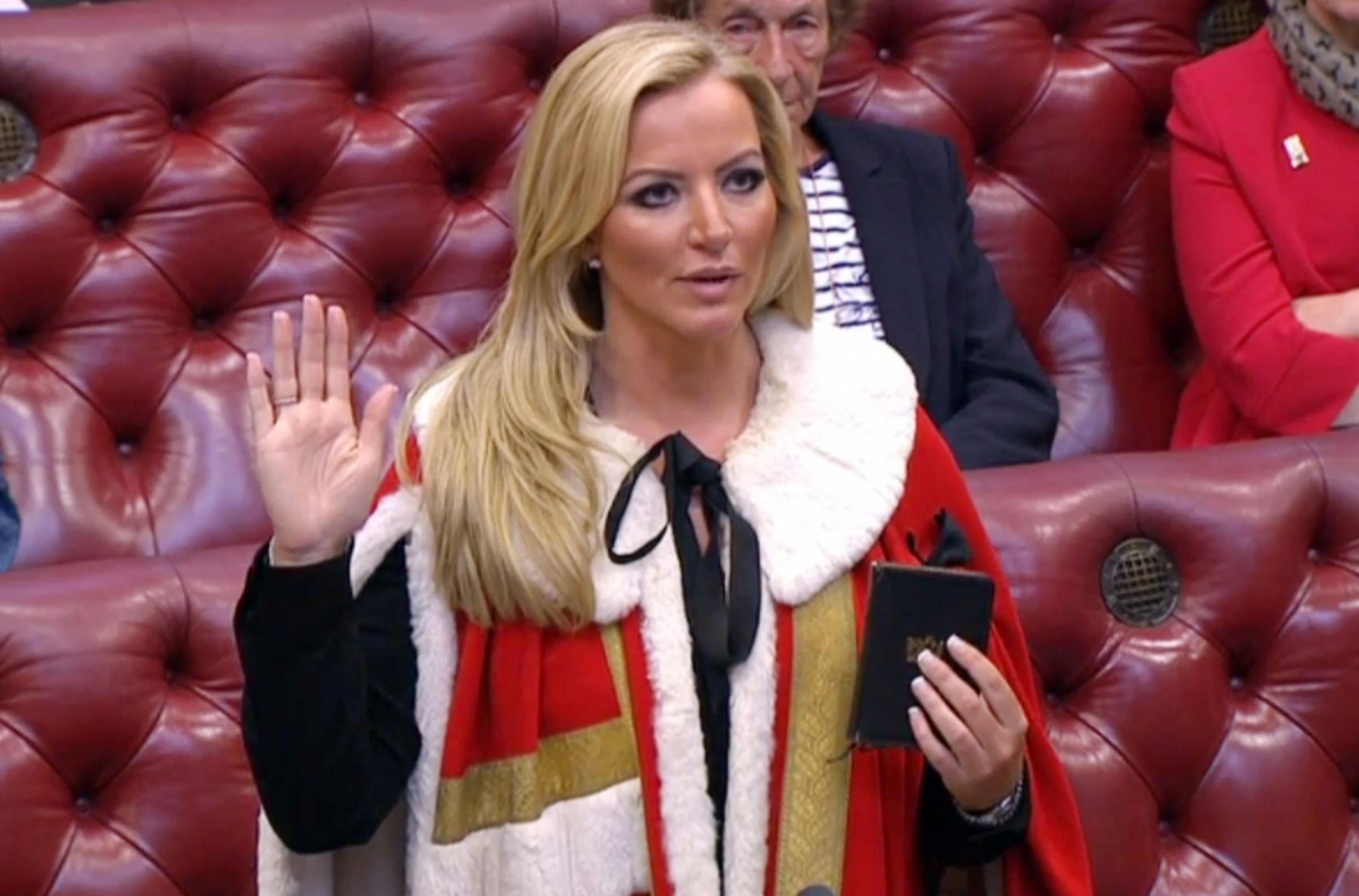 Michelle Mone's daughter blasted over 'poverty safari' TV show appearance