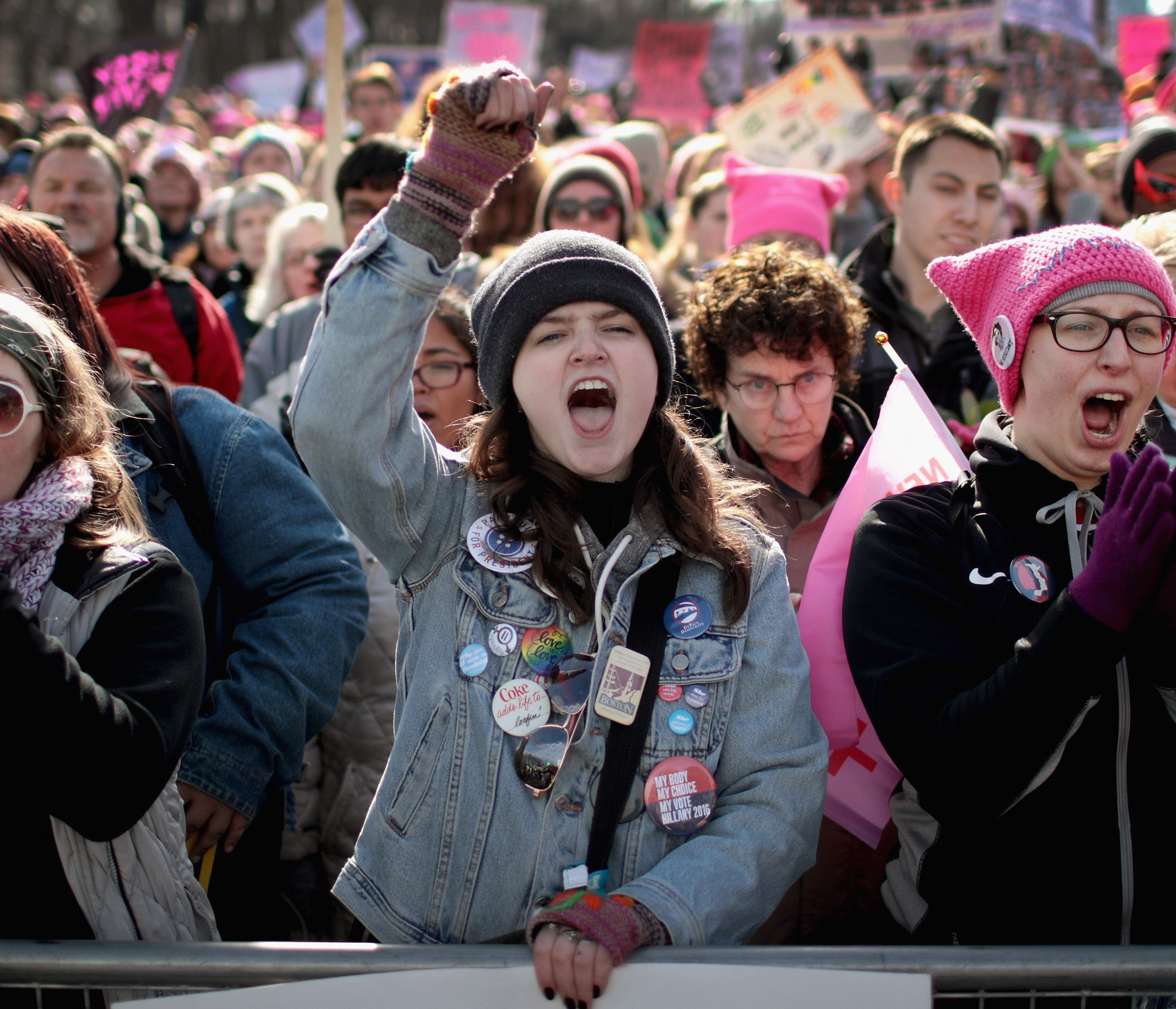 This year's Women's March in America was another example of the fight for gender equality