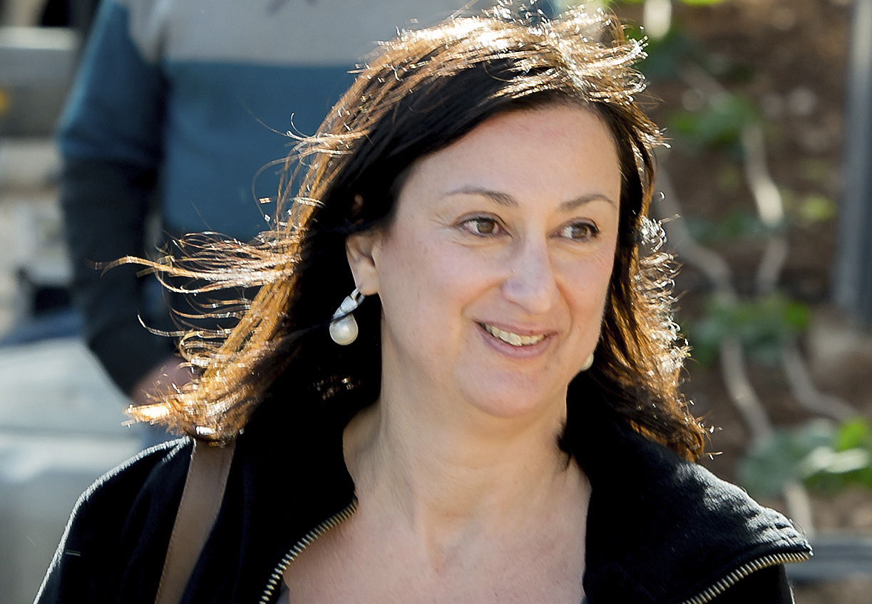 Daphne Caruana Galizia received death and libel threats for her work in the run-up to her murder