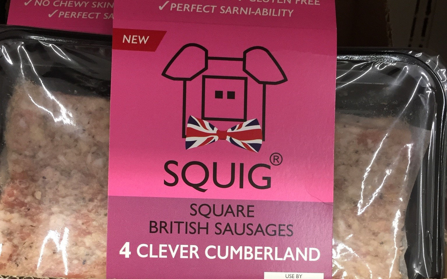 The owner of Cottom Foods said that he knew his Squigs might be compared to square sausage