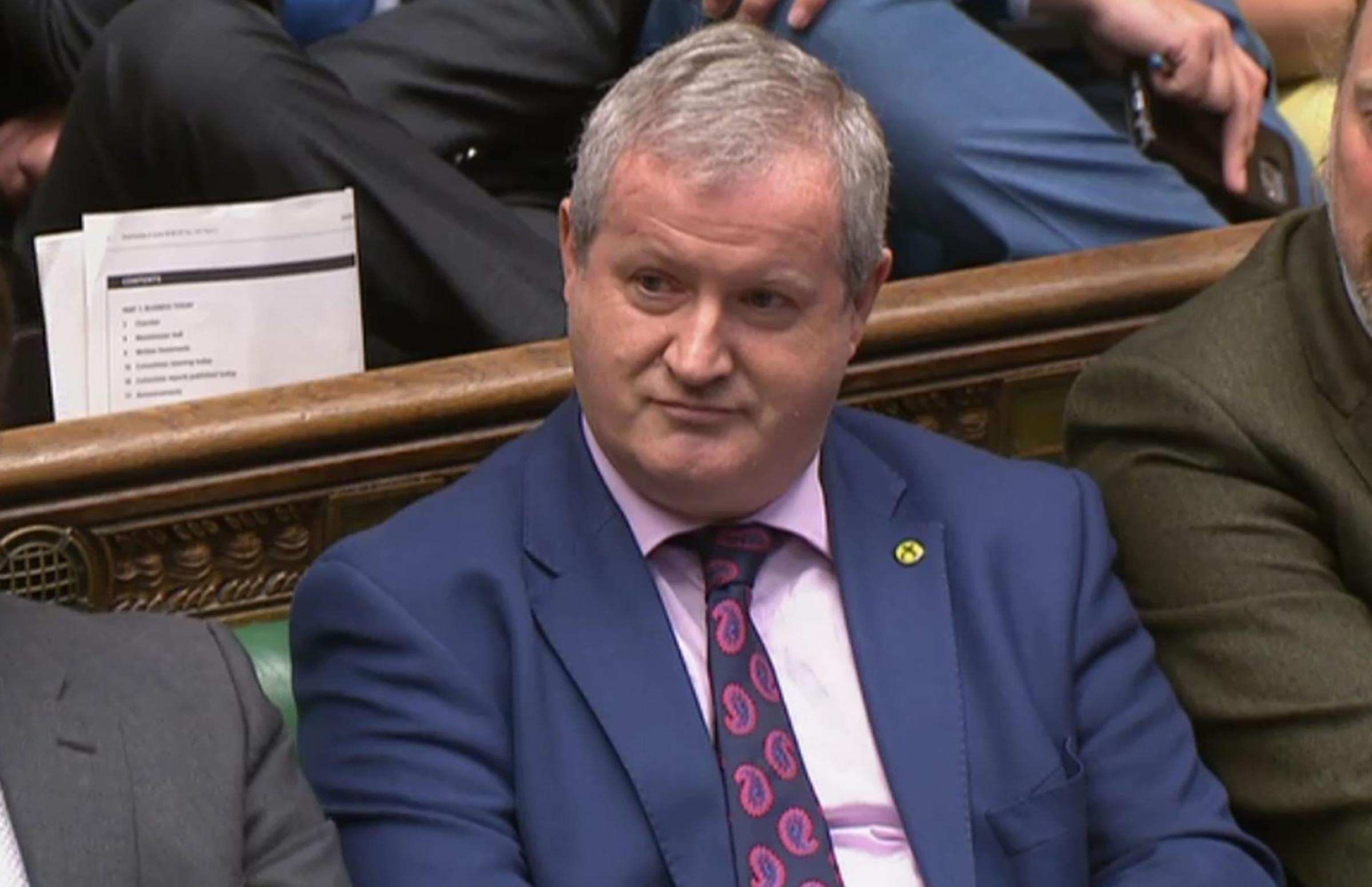 SNP Westminster leader Ian Blackford was expelled from the House of Commons