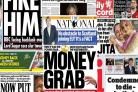 Front pages with the Jouker: Money grabs and deadly doctors