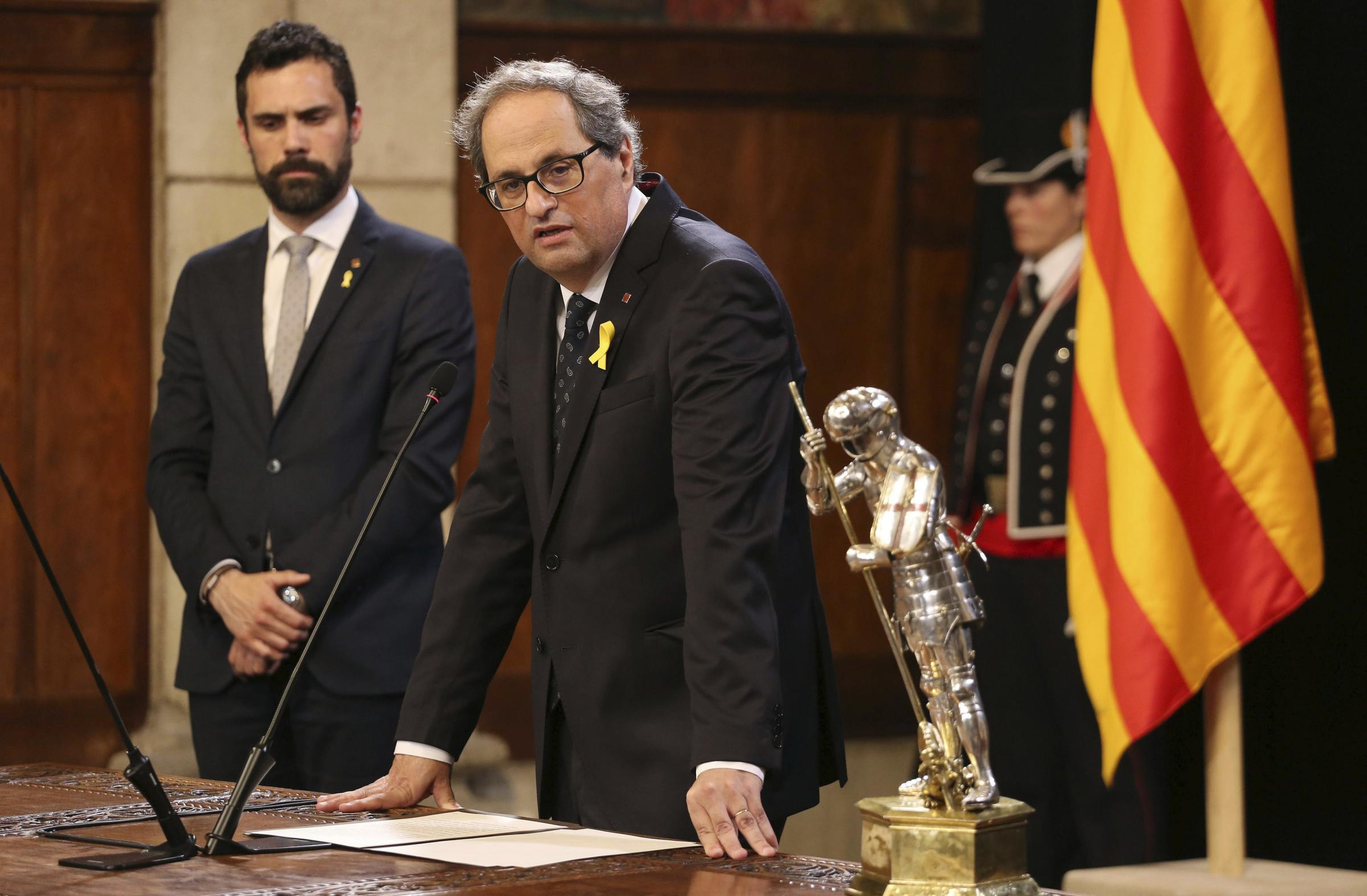 WATCH: Catalan President Quim Torra talks about historic meeting with Nicola Sturgeon