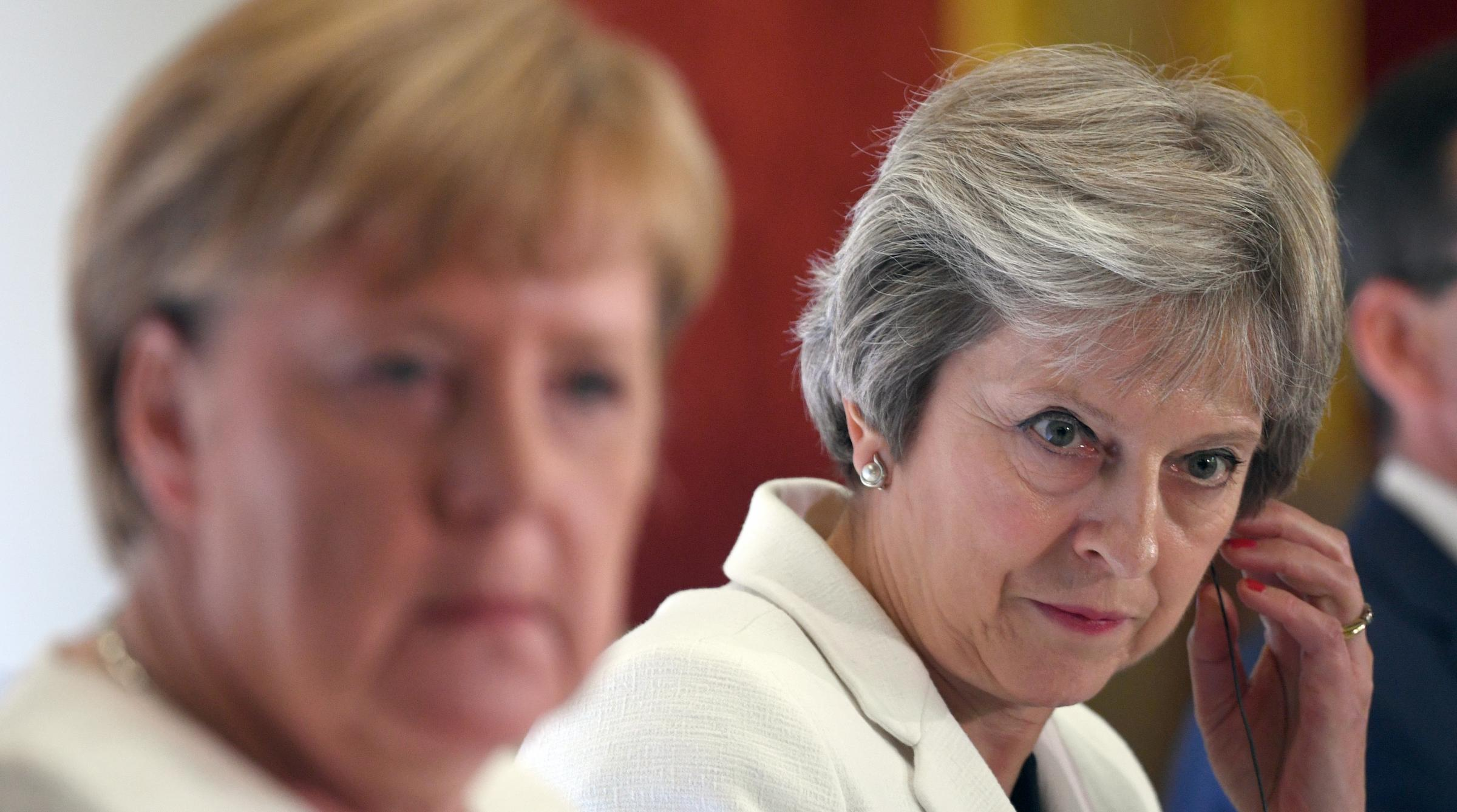 Theresa May is accused of breaking the trust of leading Brexiteers. Photograph: Getty
