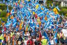 The All Under One Banner march in Stirling last month