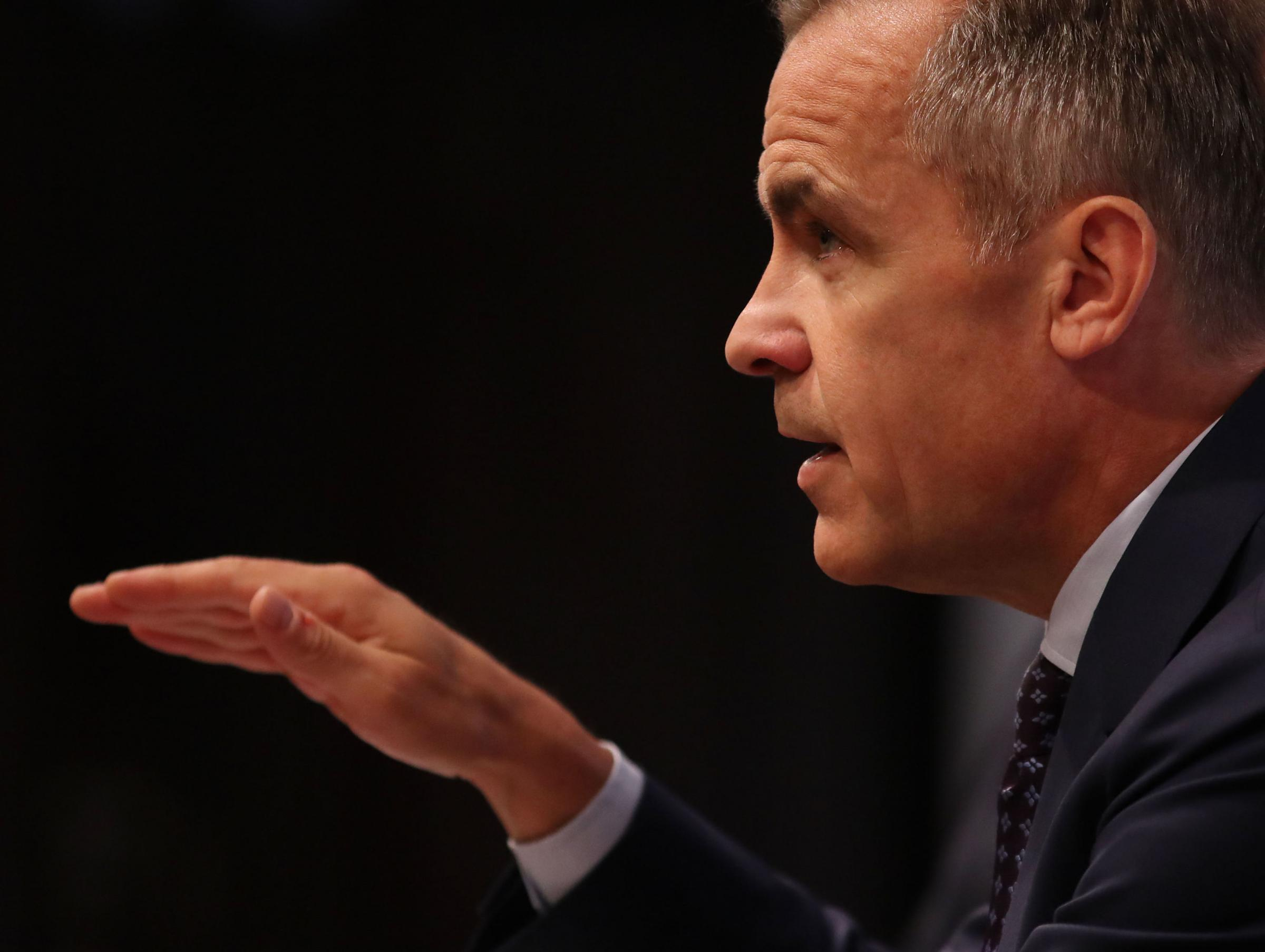 Mark Carney has been labelled